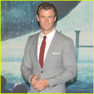 Chris Hemsworth Premieres 'In The Heart Of The Sea' in London