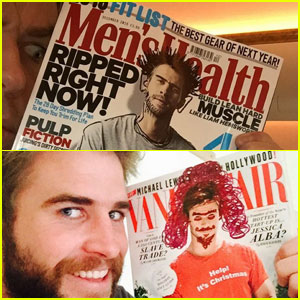 Chris & Liam Hemsworth Make Fun of Each Other on Instagram
