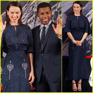 Daisy Ridley & John Boyega Continue 'Star Wars' Press in China!