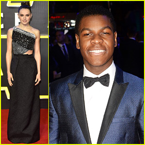Daisy Ridley & John Boyega Bring 'Star Wars' to London!