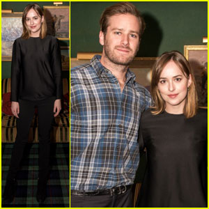Dakota Johnson & Armie Hammer Party With Audi in Aspen