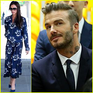 David & Victoria Beckham's Daughter Harper Had a Busy Weekend!
