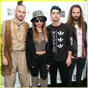 DNCE Stop By Elvis Duran's Morning Show Ahead of Jingle Ball 2015 Performance