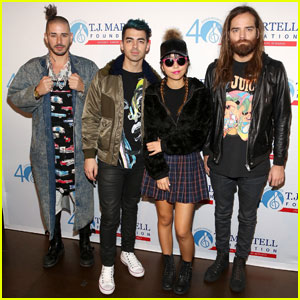 DNCE & More Stars Perform at Brooklyn Bowl for a Good Cause