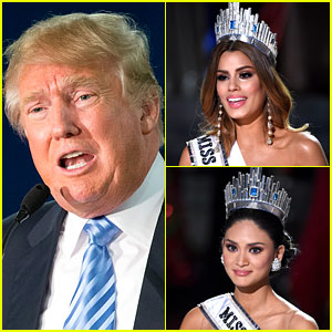 Donald Trump Shares His Thoughts on Miss Universe Mistake