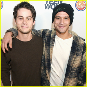 Dylan O'Brien & Tyler Posey Buddy Up At 'Teen Wolf' L.A. Premiere Party!