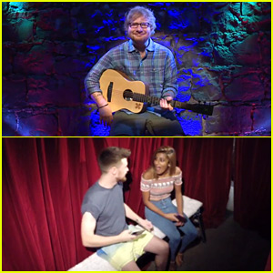 Ed Sheeran Offered $2 Peep Show Performances & Was Largely Ignored - Watch Now!