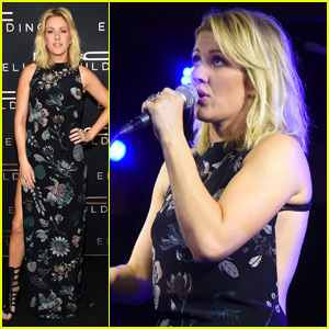 Ellie Goulding Uses Tequila to Get Through a Bad Cold