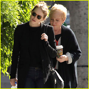 Emma Stone Enjoys a Casual Day Out with Mom Krista
