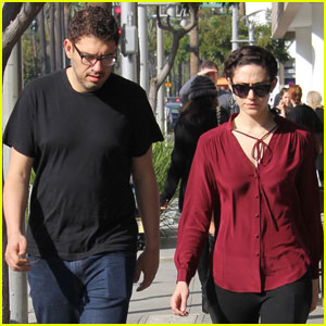 Emmy Rossum Spends Quality Time With Fiance Sam Esmail