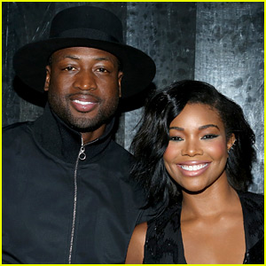 Gabrielle Union & Dwyane Wade Channel Jackson 5 for Christmas Photo Shoot!