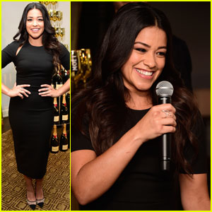 Gina Rodriguez Reacts to Her Second Golden Globe Nomination