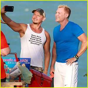 GMA's Sam Champion & Husband Rubem Robierb Explore Brazil