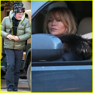 Goldie Hawn On Her Relationship With Kurt Russell: 'We Have Our Ups & Downs'