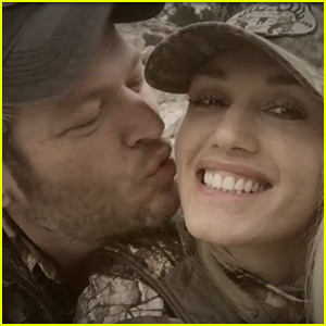 Blake Shelton Showers Gwen Stefani with Kisses in New Video - Watch Now!