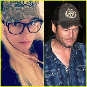 Gwen Stefani Posts Cute Selfie Wearing Blake Shelton's Hat!