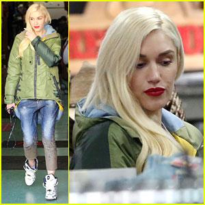 Gwen Stefani Takes a Cue From Blake Shelton & Shops for Western Wear