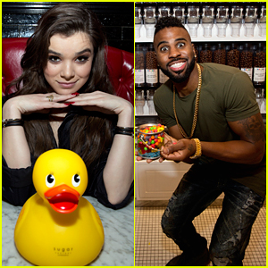 Hailee Steinfeld Grabs Sweet Treats With Jason Derulo After B96 Chicago's Jingle Bash