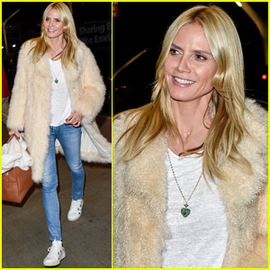 Heidi Klum Heads to Germany for Next Top Model