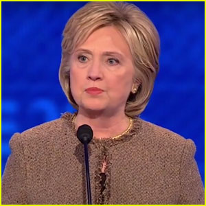 Hillary Clinton Closes Out the Democratic Debate With a 'Star Wars' Reference! (Video)