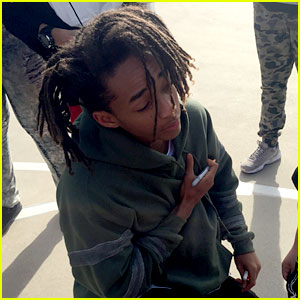Jaden Smith Personally Delivers Holiday Clothing Donation