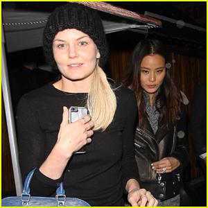 Jennifer Morrison & Jamie Chung Buddy Up For Girls Night Out!