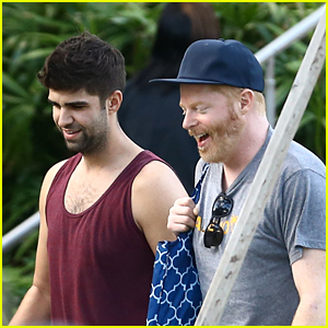 Jesse Tyler Ferguson & Hubby Justin Mikita Soak Up Some Sunrays