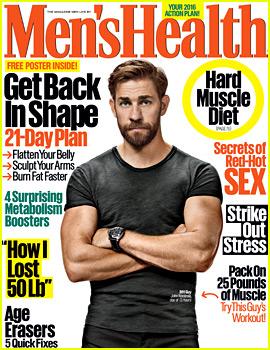 John Krasinski Shows Off His Super Buff Body for 'Men's Health'!