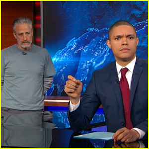 Jon Stewart Returns to 'Daily Show' for the First Time, Slams Congress - Watch Now!