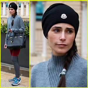 Jordana Brewster Hits the Snowy Slopes With Her Son Julian