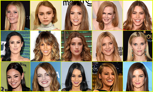 Just Jared's Most Popular Actresses 2015 (Year End Recap)