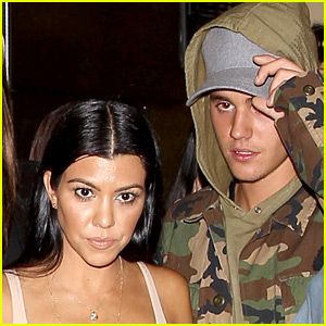Justin Bieber & Kourtney Kardashian Romance Rumors Are Heating Up!