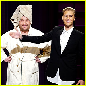 Justin Bieber Subs In for James Corden on 'Late Late Show'
