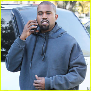 Kanye West Steps Out for First Time Following Son Saint's Birth