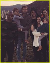 Kardashian Thanksgiving Photo Mystery Man Revealed!