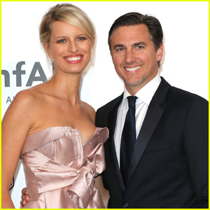 Karolina Kurkova Reveals Newborn Son's Name & First Photo!
