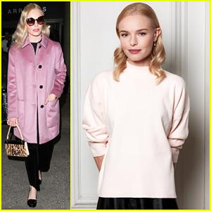 Kate Bosworth Helps Announce Winner Of H&M Design Awards 2016!