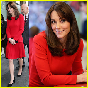 Kate Middleton Gets Festive At Anna Freud Centre Christmas Party!