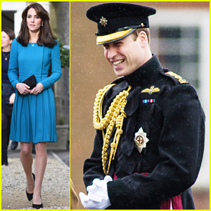 Kate Middleton Visits Action for Addiction Charity, Prince William Presents Medals In Aldershot!