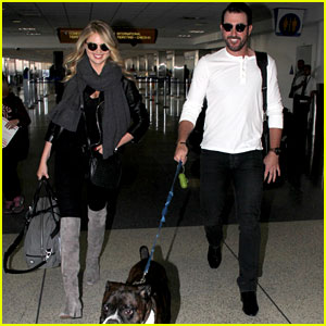 Kate Upton & Justin Verlander Travel with Their Pet Pooch!