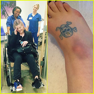 Kelly Osbourne Broke Her Foot: 'What a Way to End the Year'