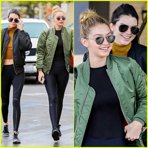 Kendall Jenner Goes Christmas Shopping with BFF Gigi Hadid!