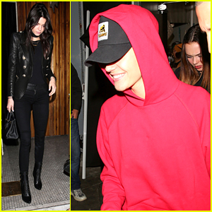Kendall Jenner Dines Out With Justin Bieber After Sharing Details of Her First Kiss