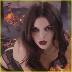Kendall Jenner Heats Up Christmas in 'Love' Mag Advent Video!