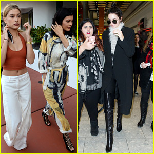 Kylie & Kendall Jenner Step Out After Kim Kardashian Gives Birth!