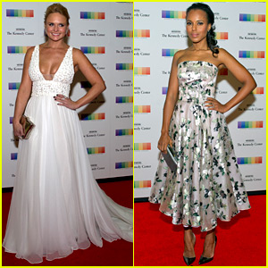 Miranda Lambert & Kerry Washington Celebrate Kennedy Center Honors Recipients!