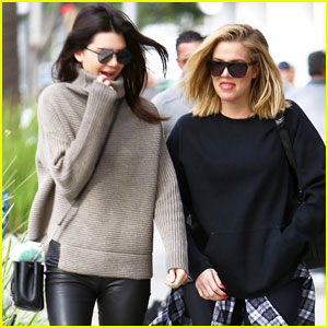 Khloe Kardashian Spends Time with Kendall Jenner as Lamar Odom Takes His First Steps
