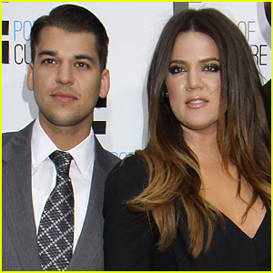 Khloe Kardashian Sends Rob Kardashian a Sweet, Motivational Message