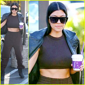 Kourtney Kardashian is One Hot Mama During Coffee Run