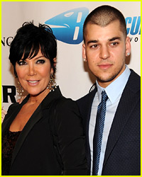 Kris Jenner Explains Why Rob Kardashian Was Missing From the Thanksgiving Family Photo